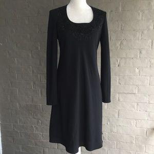 Jones New York Bead Embellished Dress